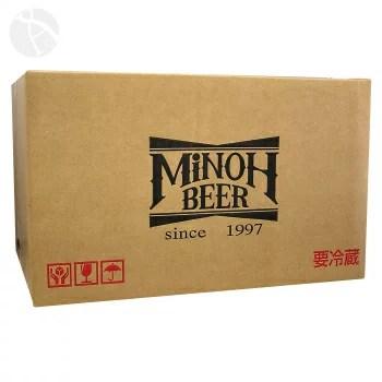 箕面ビール 専用化粧箱 24本入り用