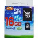 【マラソンでポイント最大43倍】mtc microSDHCカード 16GB class10 (PK) MT-MSD16GC10W (UHS-1対応)