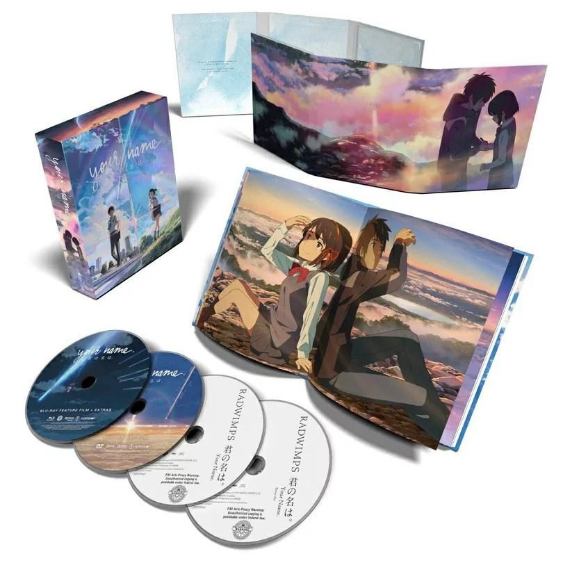 君の名は 劇場版コンボパック 限定版 ブルーレイ+DVDセット【Blu-ray】