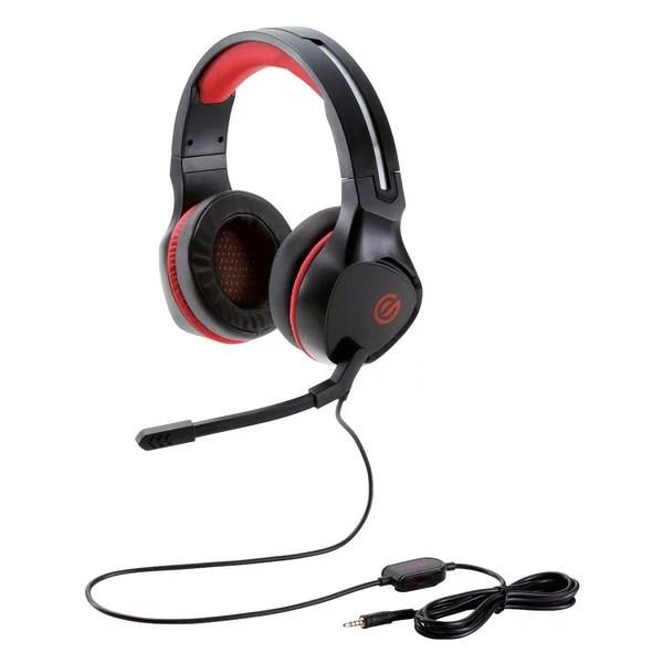 【送料無料】ELECOM HS-G01BK ゲーミングヘッドセット 両耳オーバーヘッド 4極ミニプラグ 50mmドライバ 極厚イヤーパッド コントローラ付属 ブラック【同梱配送不可】【代引き不可】【沖縄・離島配送不可】