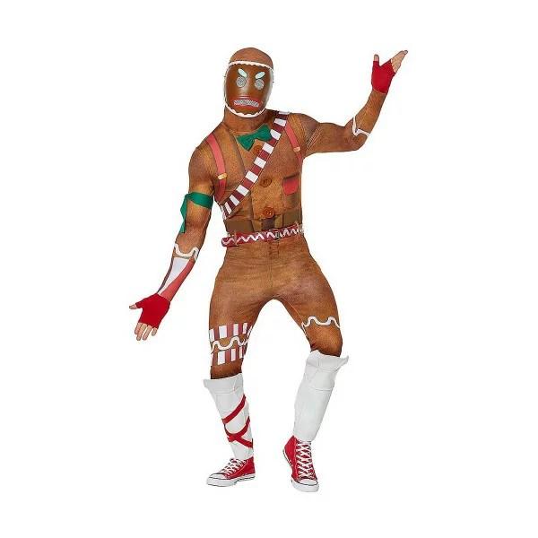 フォートナイト キラージンジャー クッキーマン コスチューム 大人 コスプレ 衣装 テレビゲーム