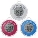 温湿度計:熱中症計・インフルエンザ警告計つき携帯型デジタル温湿度計O-244【メール便可¥320】