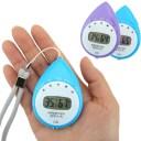 熱中症計 自動計測 携帯型熱中症計 見守りっち 6937 パープル メール便可¥320