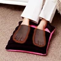 FOOT HOT (ふ〜っとほ〜っと) 【クッション ビーズクッション 防寒 冷え性 暖かい 室内用 足先】