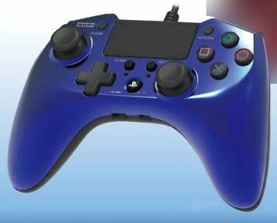 ホリパッドFPSプラスfor PlayStation4 ブルー[ホリ]《発売済・在庫品》