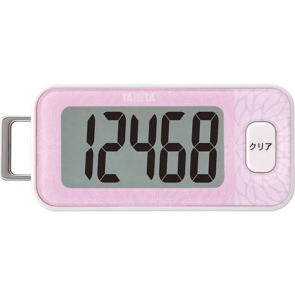 タニタ 3Dセンサー搭載歩数計 ピンク (PBb) (26)▼お買い物マラソン