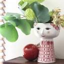 【Bjorn Wiinblad Eva FlowerVase Christmas red】花瓶 フラワーポット フラワーベース ビヨン ヴィンブラッド エヴァ ギフト 限定■ ラ..