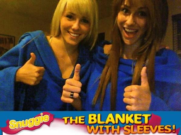 snuggie スナギー 着る毛布4ヶ月で400万枚販売 袖付 ブランケットスナグル snuggle 防寒具