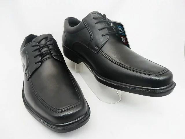 メンズ▼ スポルス ビジネスSPH4921 幅広4E ブラック ●履きこむほど自分の足にフィット。安