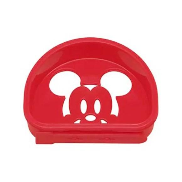 【キャラ弁 道具 ディズニー】 ふりかけプレート 【ミッキーマウス/LKF4】 キャラクター お弁当