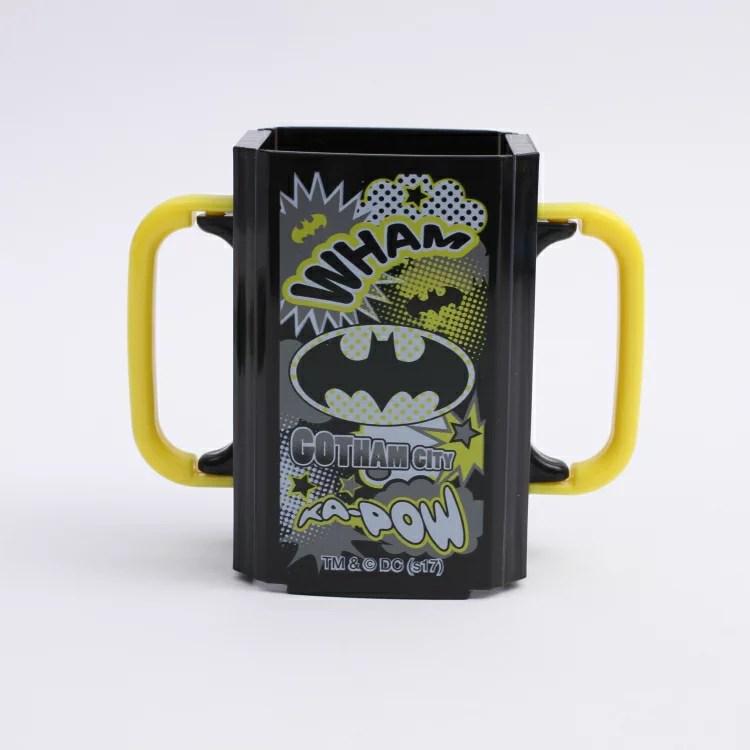 【紙パックホルダ— バットマン】 折りたたみ紙パック飲料ホルダー 【BATMAN18 / DHP2】