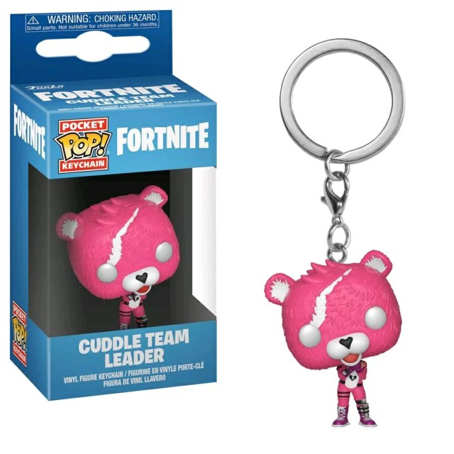[FUNKO(ファンコ)] FUNKO POP! KEYCHAINS: Fortnite - Cuddle Team Leader <フォートナイト>