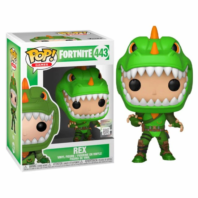 ■予約■[FUNKO(ファンコ)フィギュア] FUNKO POP! Games: Fortnite S1a - Rex<フォートナイト>