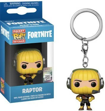■予約■[FUNKO(ファンコ)フィギュア] FUNKO POP! KEYCHAIN: Fortnite S1a -Raptor <フォートナイト>