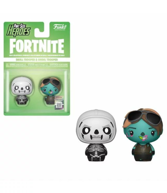 ■予約■[FUNKO(ファンコ)フィギュア] FUNKO PINT SIZE HEROES: Fortnite S1a - Skull Trooper & Ghoul Trooper <フォートナイト>