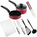 一人暮らし 料理道具 10点セット[便利な料理道具セット 調