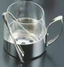 ガラス製 アイスペール(トング付) 9078【氷入れ】【アイスバスケット】【バー用品】【業務用厨房機器厨房用品専門店】