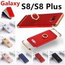 Galaxy S8 SCV36 SC-02J ケース Galaxy S8 Plus SCV35 SC-03J カバー リング付き 3パーツ式 ス……