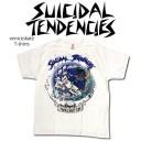 SUICIDAL TENDENCIES VENICE SKATE スイサイダル Tシャツブラック メンズ レディース ファッション ユニセックス アーティスト ヒップ..
