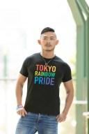 <送料無料>「Tシャツ(Tokyo Rainbow Pride)」 【TRP公式グッズ】 TRP 東京レインボープライド TOKYO RAINBOW PRIDE レインボー プラ..