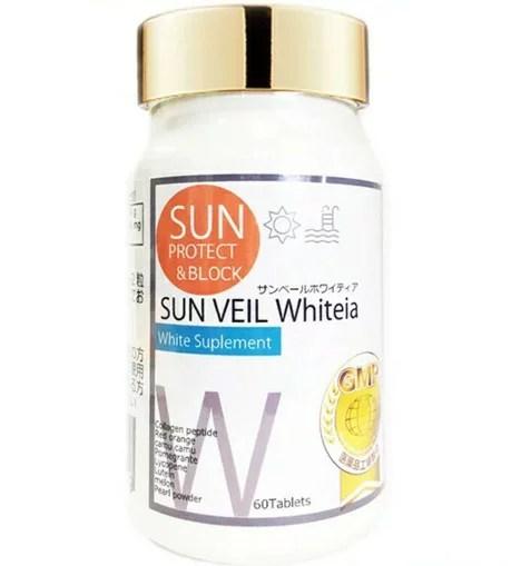 【日本製】サンベールホワイティア 60粒 サプリメント 美容 肌 飲む太陽対策サプリ 健康食品 飲む