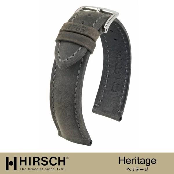 【ヒルシュ】ヘリテージ /時計革ベルト/ヒルシュ/HIRSC