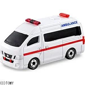 タカラトミー トミカ No.18 日産 NV350 キャラバン 救急車(サック箱)