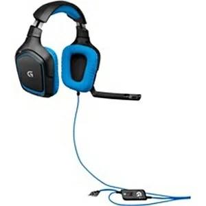 ロジクール G430 ヘッドセット ブラック[USB /両耳 /ヘッドバンドタイプ][G430]