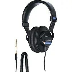 ソニー SONY ヘッドホン MDR-7506 [φ3.5mm ミニプラグ][スタジオ モニターヘッドホン MDR7506]
