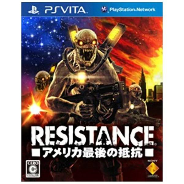 ソニーインタラクティブエンタテインメント Sony Interactive Entertainmen RESISTANCE -アメリカ最後の抵抗-【PS Vitaゲームソフト】