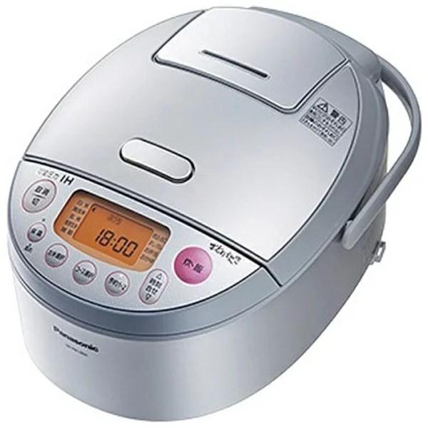 【送料無料】 パナソニック Panasonic 可変圧力IH炊飯ジャー 「おどり炊き」(5.5合) SR-PB1000-S シルバー[SRPB1000] panasonic