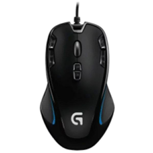 ロジクール 【FINAL FANTASY XIV 新生エオルゼア推奨】有線光学式ゲーミングマウス[USB 2.05m・Win] G300s オプティカル (9ボ