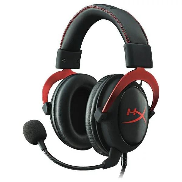 キングストン Kingston KHX-HSCP-RD ゲーミングヘッドセット HyperX レッド [φ3.5mmミニプラグ+USB / 両耳 / ヘッドバンドタイプ][KHXHSCPRD]