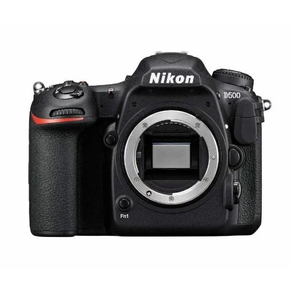 ニコン Nikon D500 デジタル一眼レフカメラ ブラック [ボディ単体][D500]