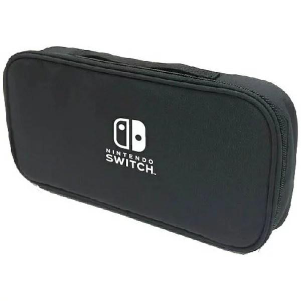 【あす楽対象】 マックスゲームズ Nintendo Switch専用スマートポーチ ブラック HACP-01BK [Switch]