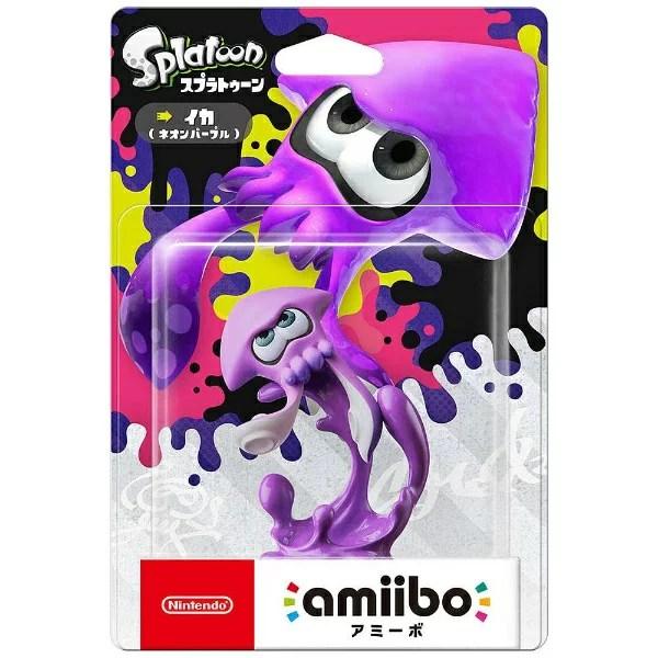 任天堂 amiibo イカ【ネオンパープル】(スプラトゥーンシリーズ)【Switch/Wii U/New3DS/New3DS LL】