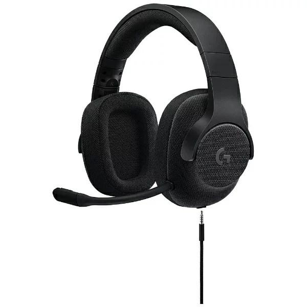 ロジクール G433BK ゲーミングヘッドセット ブラック [φ3.5mmミニプラグ+USB /両耳 /ヘッドバンドタイプ][G433BK]