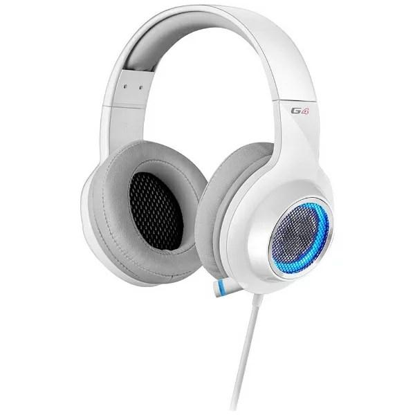 【送料無料】 EDIFIER ゲーミングヘッドセット ホワイト [USB /両耳 /ヘッドバンドタイプ]
