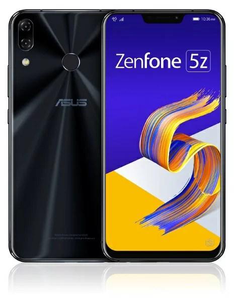 ASUS エイスース 【2000円OFFクーポン配布中 2/1 00:00?2/3 23:59】Zenfone 5Z Series シャイニーブラック ZS620KL-BK128S6 Snapdragon 845 6.2型ワイド メモリ/ストレージ: 6GB/128GB nanoSIM x2 DSDV対応 ドコモ/au/ソフトバンクSIM対応 SIMフリースマートフォン[
