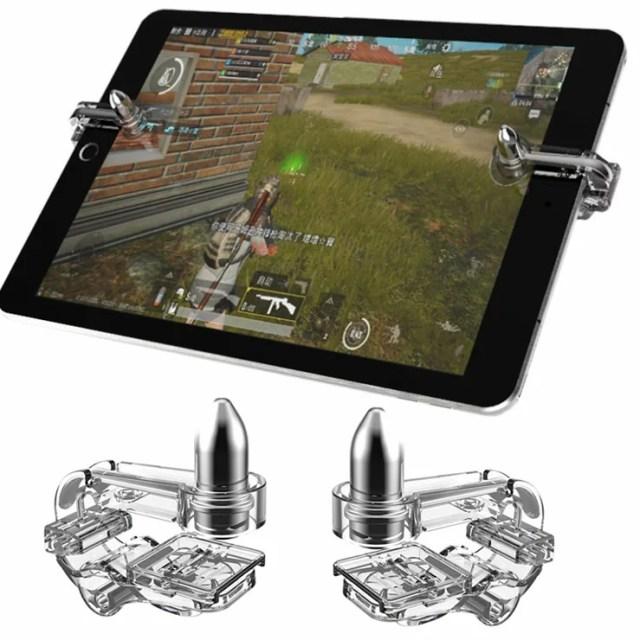 荒野行動 PUBGモバイル コントローラー K10 ipad タブレット対応(送料無料)[最新版] PUBG Mobile iPad Android iphone