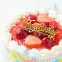 生クリームいちごデコ10号(直径約30cm)バースデーケーキ10号/お誕生日ケーキ