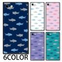 スマホケース スクエア ガラス サメ 鮫 海の生き物 海 魚 iphone12 pro MAX iphone11 iphoneXR……