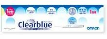 【第2類医薬品】 オムロンヘルスケア妊娠検査薬 クリアブルー 1回用 【正規品】  オムロンクリアブルー