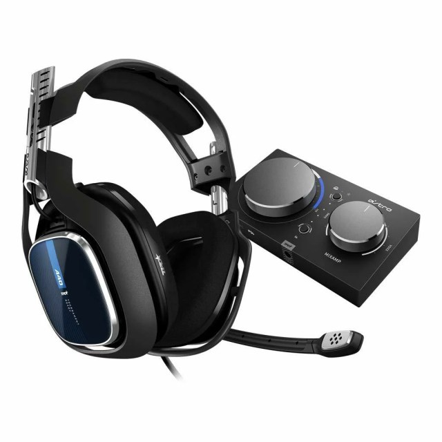 Astro ゲーミングヘッドセット A40 TR+MixAmp Pro TR A40TR-MAP-002 ブラック ミックスアンプ 付き ヘッドセット PS4/PC/Mac/Switch/ Dolby 5.1ch 3.5mm usb