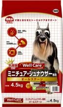 【イースター】ウェルケア ミニチュア・シュナウザー専用 オールステージ 4.5kg