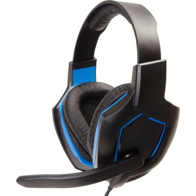 CYBER ・ ゲーミングヘッドセット ライト ( PS4 用) ブルー