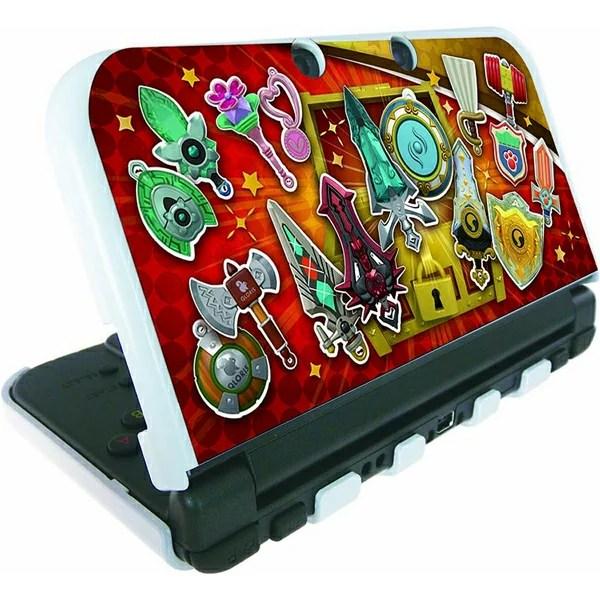 スナックワールド new NINTENDO 3DS LL 専用 カスタムハードカバー ジャラ Ver.