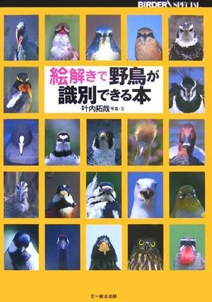 絵解きで野鳥が識別できる本