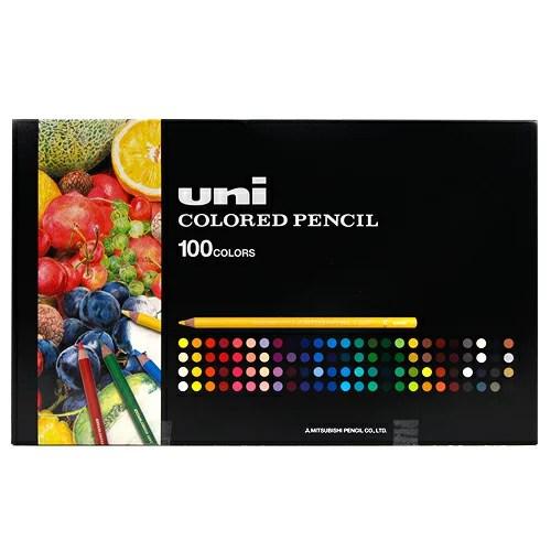 三菱鉛筆 uni ユニカラー100色UC100C【送料無料】