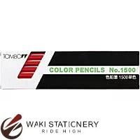 トンボ鉛筆 色鉛筆 1500 単色 赤 1500-25